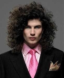 Peinados Para Pelo Rizado Largo Hombre Cortes De Pelo De Moda Para Ti